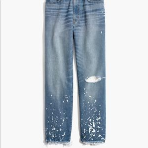 Madewell Jeans - NWT Madewell The Dadjean: Bleached Edition Jeans